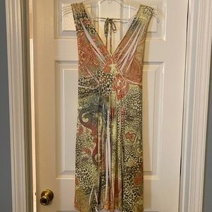 Leopard and Paisley Summer Dress